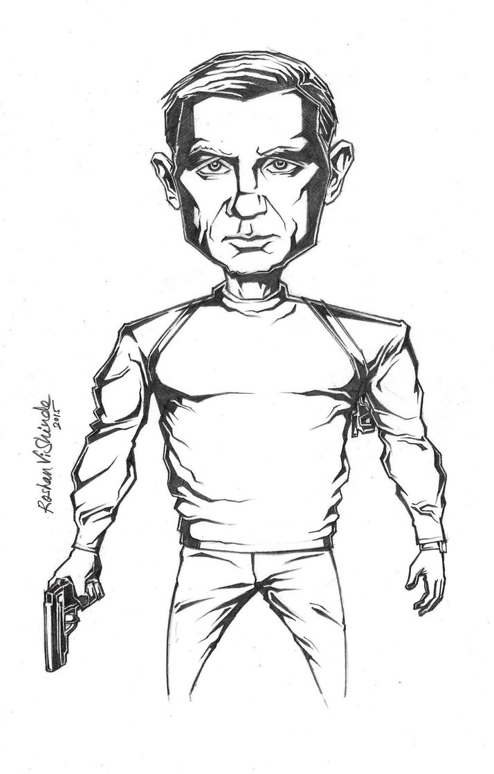 714x1120 Bond James Bond By Roshanvishinde