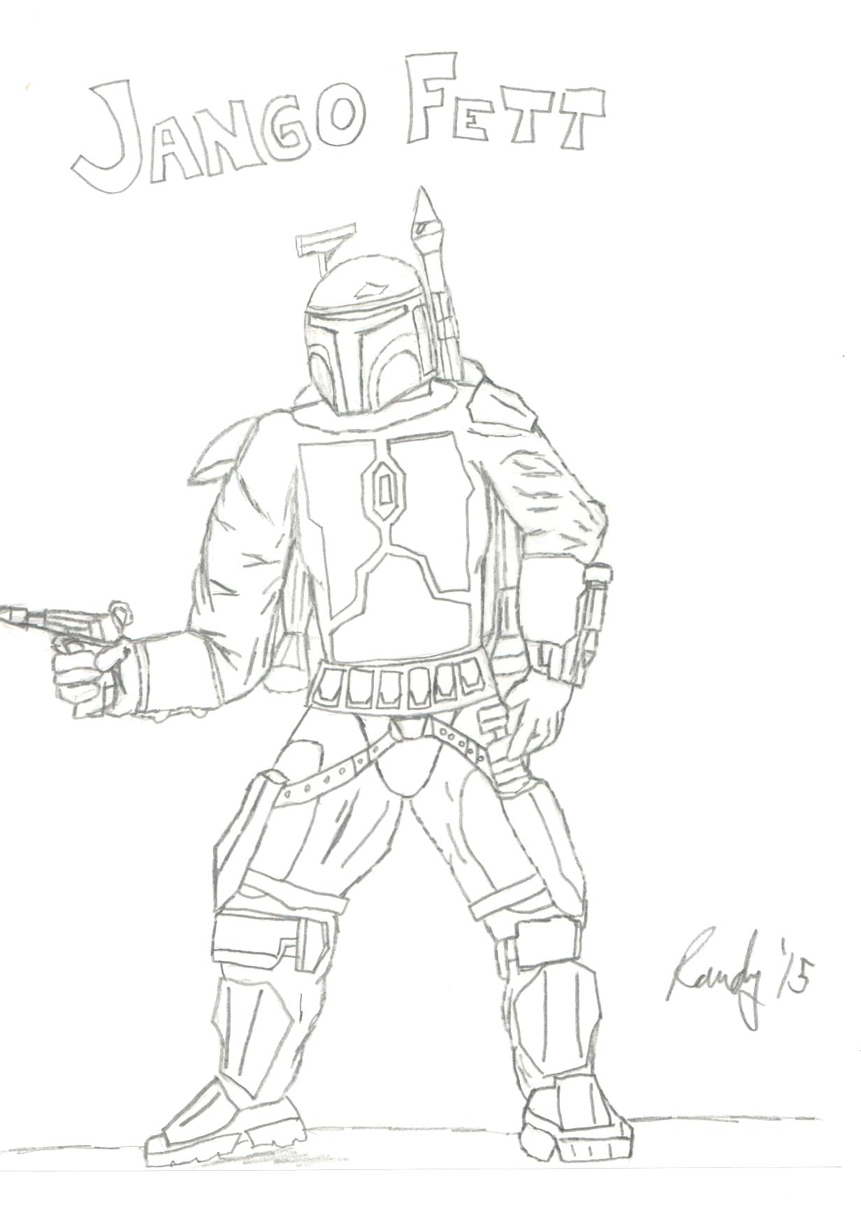 1232x1744 Coloring Jango Fett Coloring Page So This Is The Father Of Worry