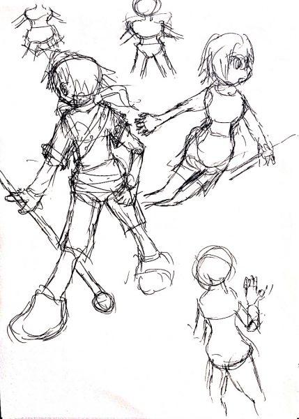 429x600 Drawing Anime Japan Style Osushi