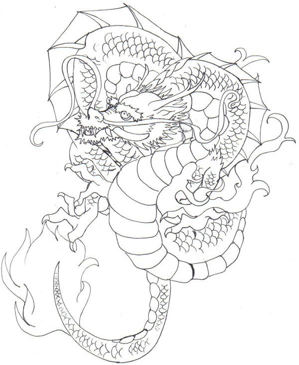 600x733 Japanese Dragon 2 By Demonshuriken87