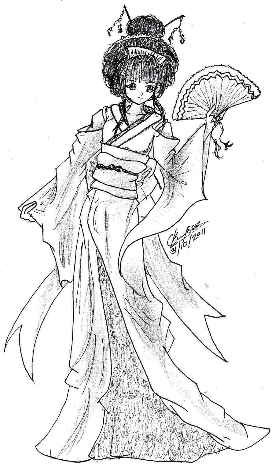 900x1524 Geisha Attempt By Kyoko3kuran