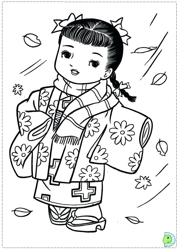 691x960 Pretty Japanese Coloring Pages New Japan Page Geisha Drawing