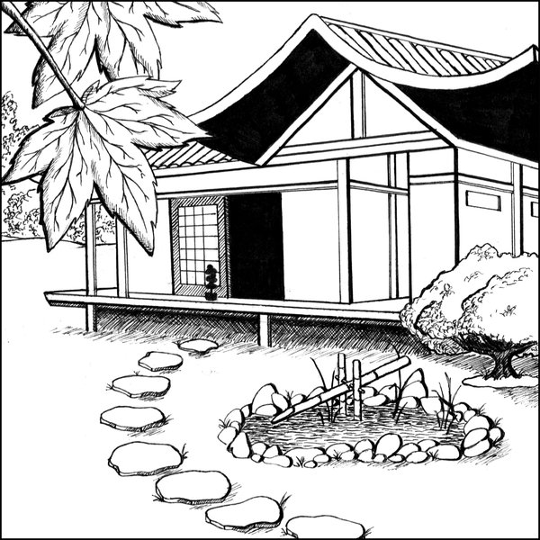 600x600 Japanese House By Cf Fantasy