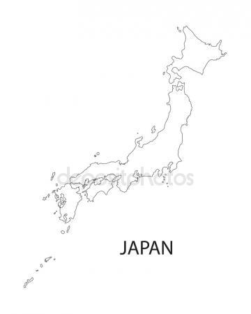 360x450 Japan Map Stock Vectors, Royalty Free Japan Map Illustrations