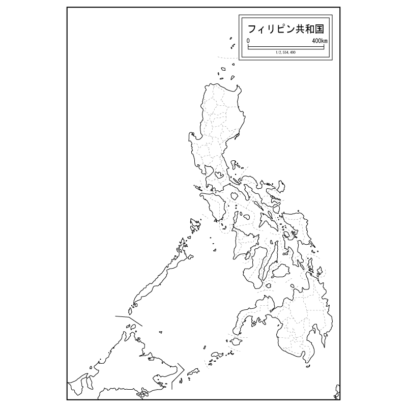 800x800 Map Of Philippines