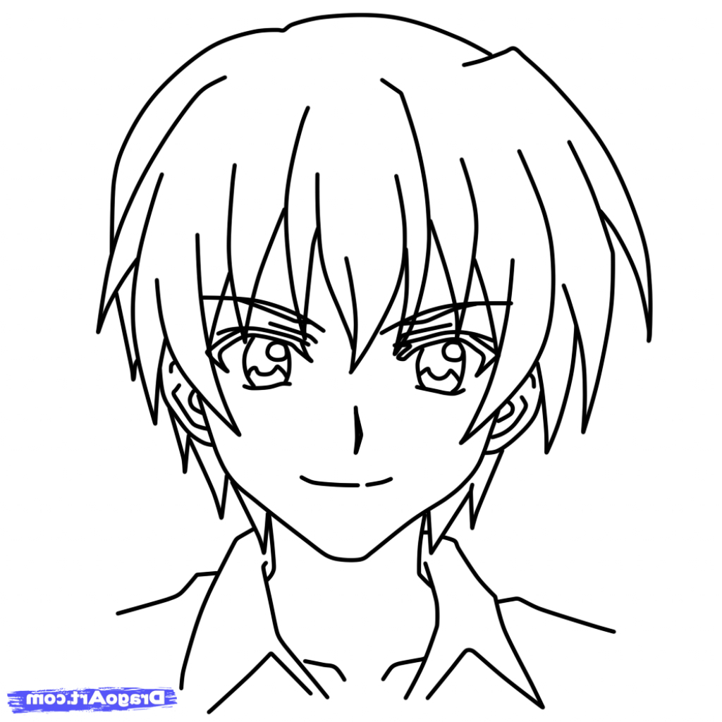 1024x1024 How To Draw Anime Characters With Step By Step Photos Anime
