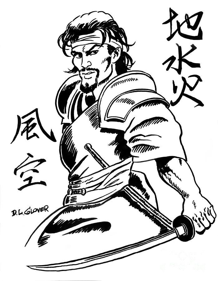699x900 Japanese Drawings Fine Art America