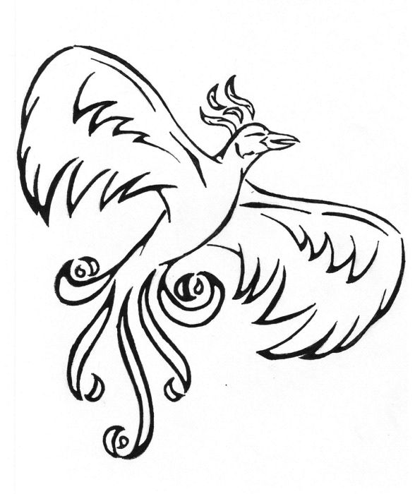 588x700 Great Tattoo Ideas Pictures Of Japanese Phoenix Tattoos For Men 379