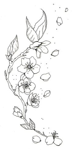 236x490 Cherry Blossom Tattoo Tattoo Ideas Cherry