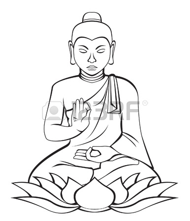 386x450 Buddha Vector Royalty Free Cliparts, Vectors, And Stock