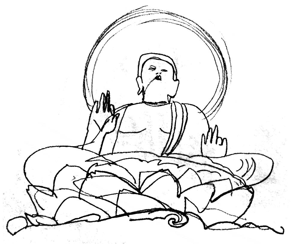 978x816 Japanese Buddhism Despina Illustration