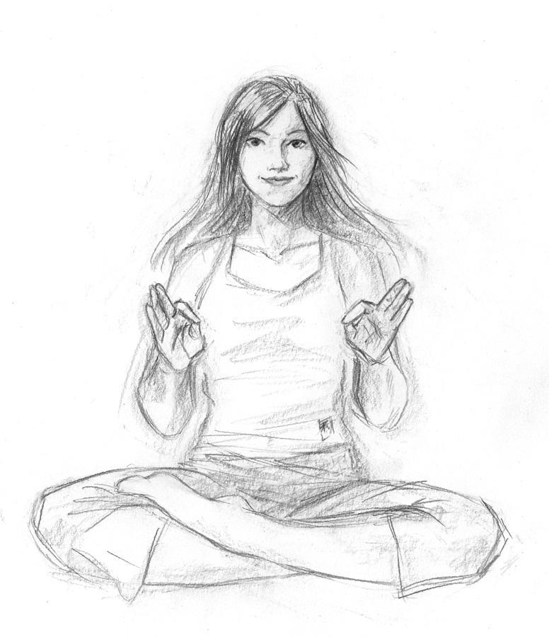 776x900 Zen Buddhism Drawings Fine Art America
