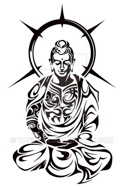 400x600 Buddha Tribal By Takihisa