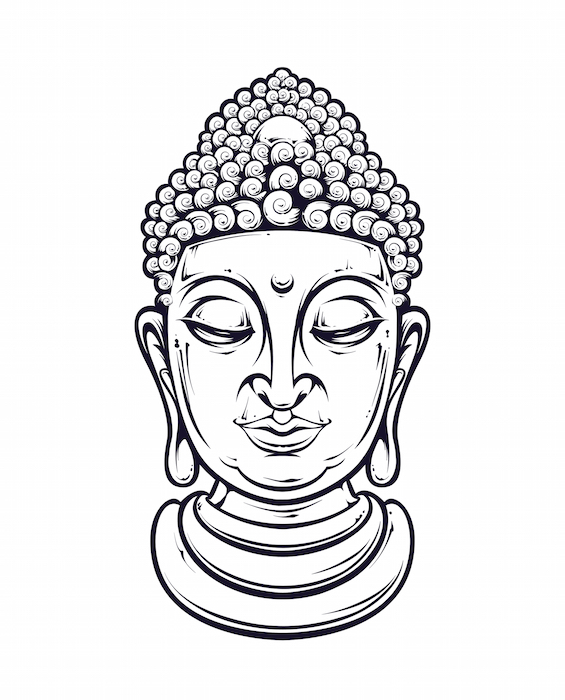565x700 Buddha Tattoo Meaning