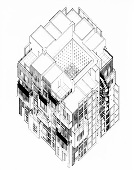 432x549 Beyond Architectural Illustration Graphical Parallel Projection