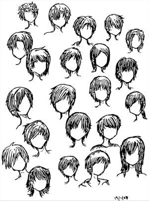 300x404 Japanese Anime Hairstyles Thomas Dekker Cool Emo Hairstyles