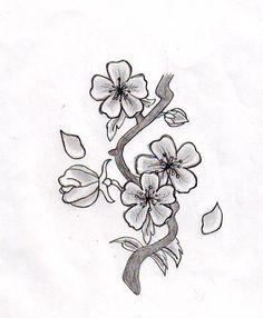 236x286 Asian Cherry Blossom Tattoo Designs
