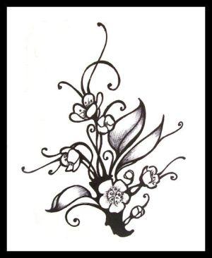 300x366 Cherry Blossom Tattoos Are Considered Very Feminine Tattoo 1234