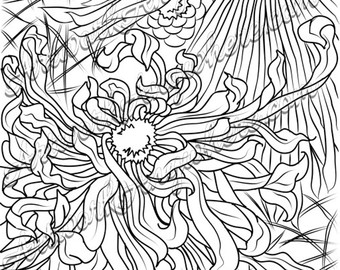 340x270 Japanese Blossoms Firework Flowers And Tree Cloud