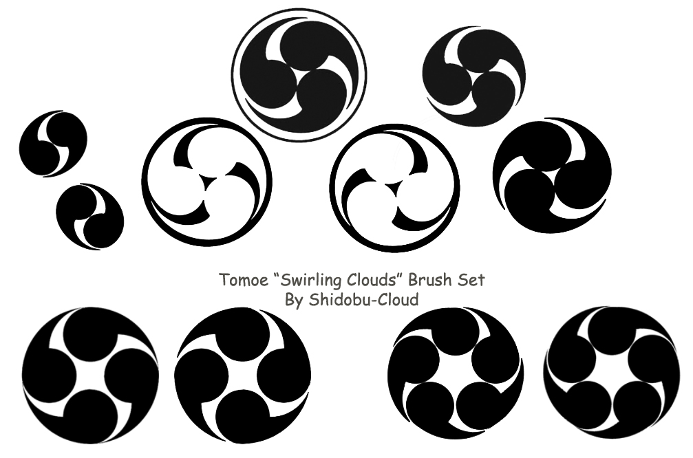 1007x666 Swirling Clouds' Brush Set By Shidobu Cloud