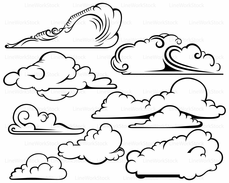 1500x1200 Clouds Svg,clouds Clipart,clouds Svg,clouds Silhouette,clouds