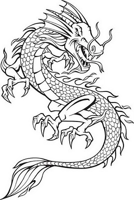269x400 Broken Heart Drawings With Dragons Magazine Tattoo Picture