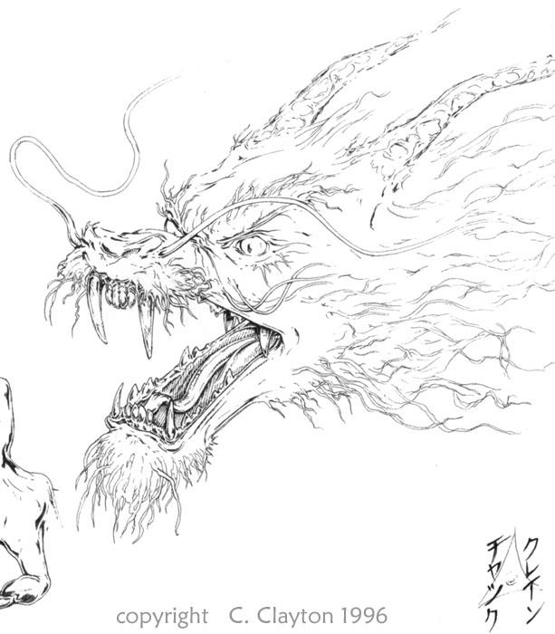 613x700 Japanese Dragon, Japanese Dragon Tattoo, Japanese Dragon Tattoos