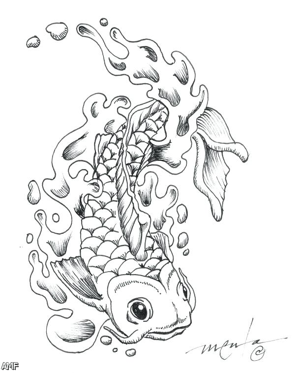 600x758 Japanese Dragon Coloring Pages How To Draw Dragon Art Step By Step