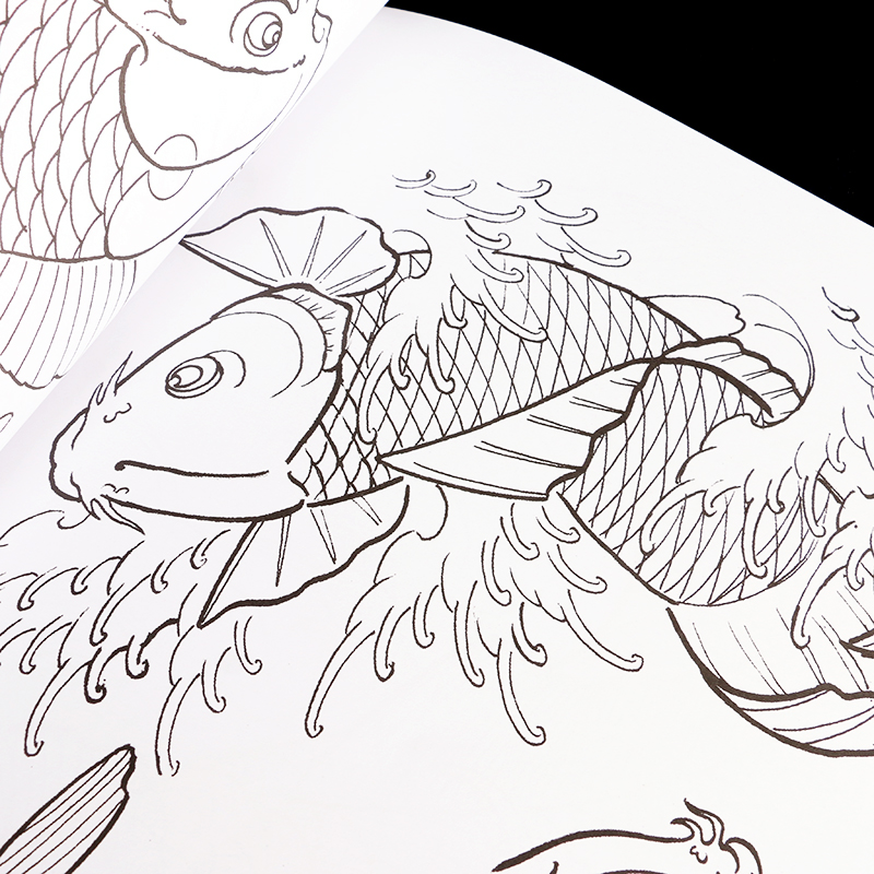 800x800 Japanese Dragon Tattoo Design Pattern Tattoo Book Sketshes Tb2203
