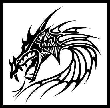 385x381 Japanese Dragon Tattoos