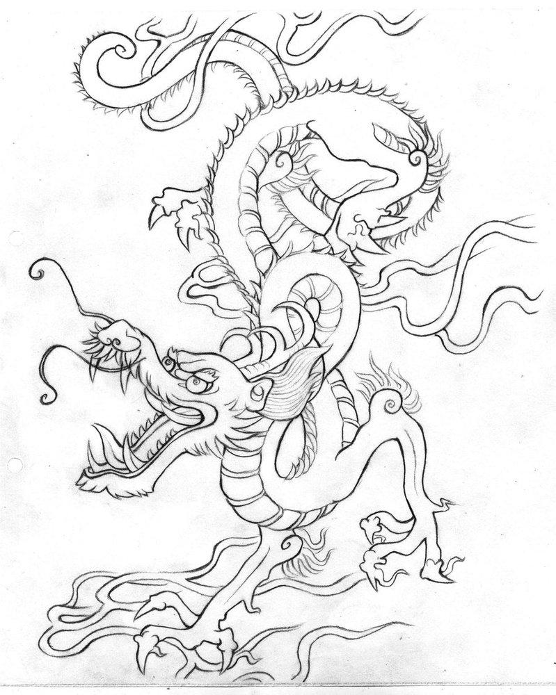 799x1000 Japanese Dragon By Marona Chan
