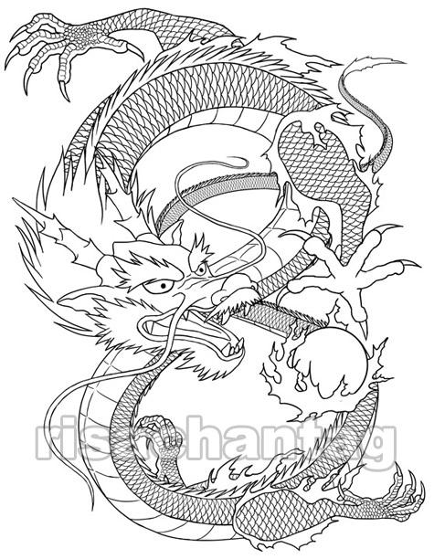 475x612 Chinese Dragon Tattoo By Risachantag
