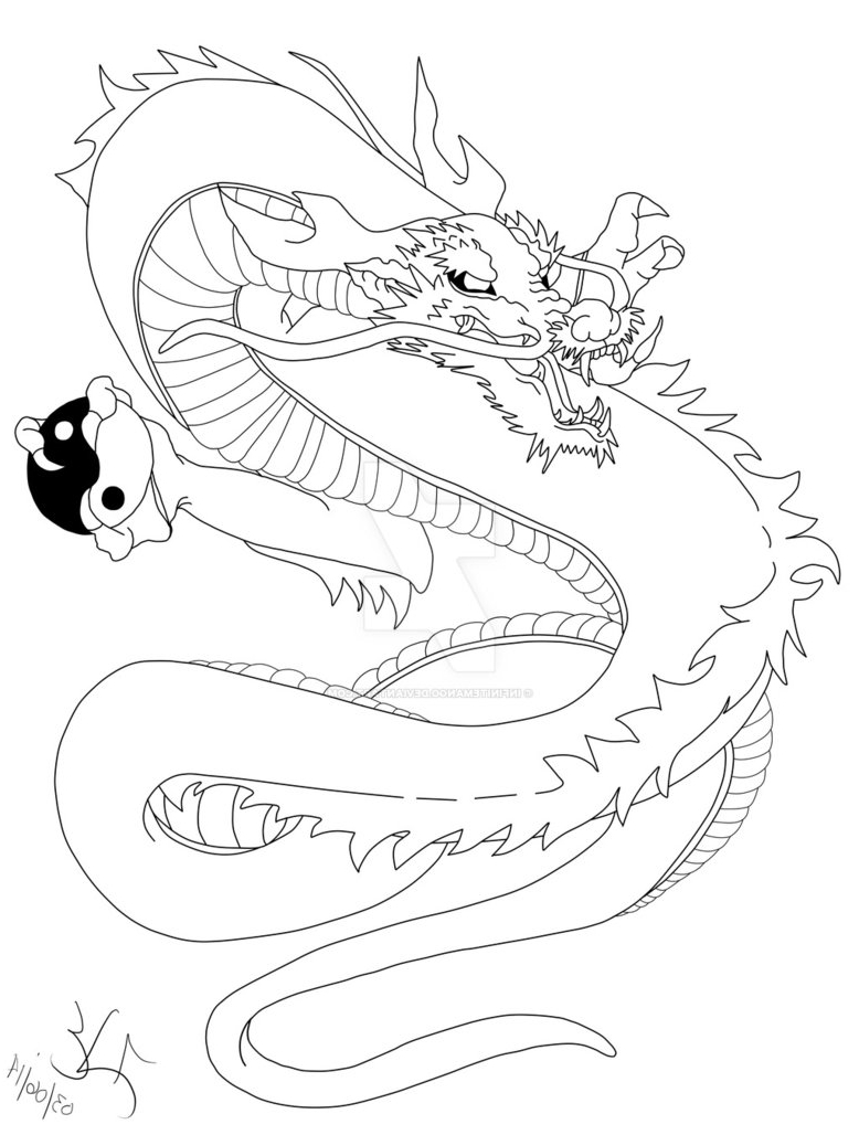 778x1028 Japanese Dragon Tattoo Outline Japanese Dragon Tattoo