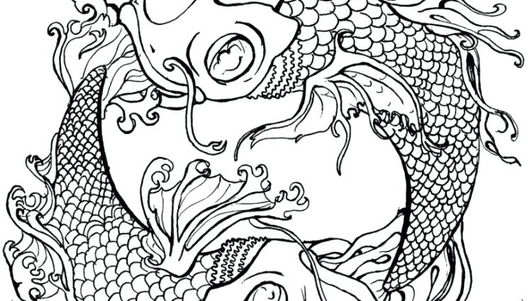 750x425 Charming Dragon Tattoo Coloring Pages Photos