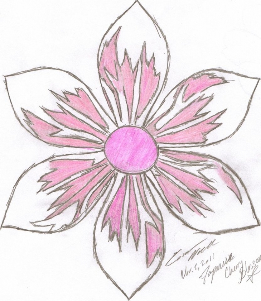 886x1024 Japanese Flower Drawing Styles Japanese Flower Drawing Styles