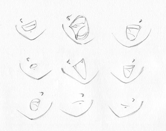 564x444 How To Draw Anime Lips Striderbadguy's Art Tips! (Drawing Heads