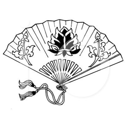 400x420 Japanese Hand Fans Hand Fan Clip Art Japanese Inspired