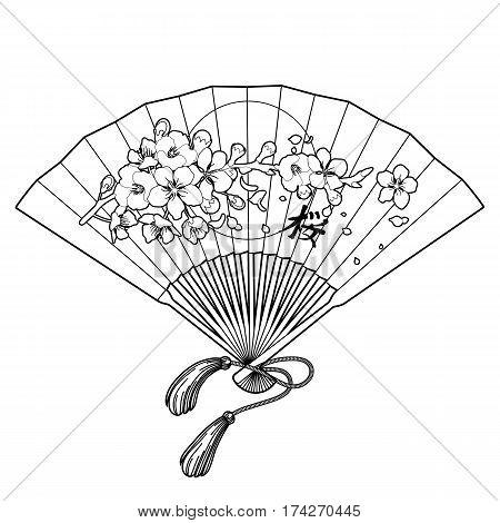 450x470 Hand Fan Traditional Japanese Vector Amp Photo Bigstock