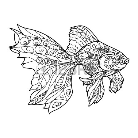 450x450 3,206 Ornamental Fish Cliparts, Stock Vector And Royalty Free