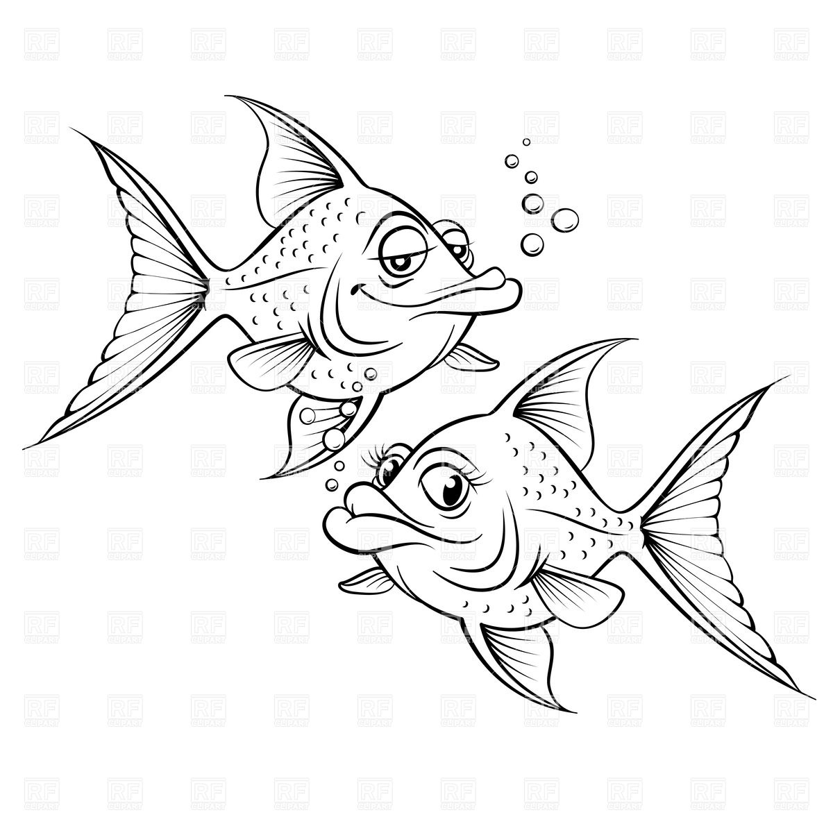 1200x1200 Pisces Fish Drawing In 2017 Real Photo, Pictures, Images