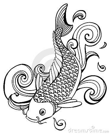 372x450 Japanese Koi Fish Clipart