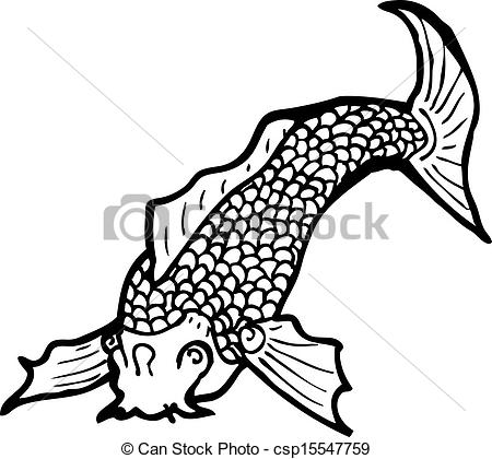 450x420 Black And White Japanese Fish Tattoo Clipart Vector