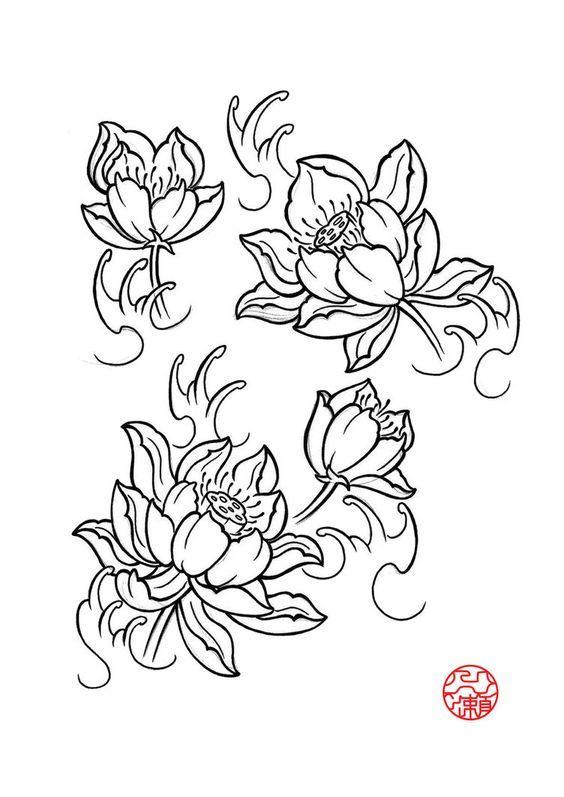 564x797 The Best Japanese Lotus Ideas On Koi Tattoo Sleeve