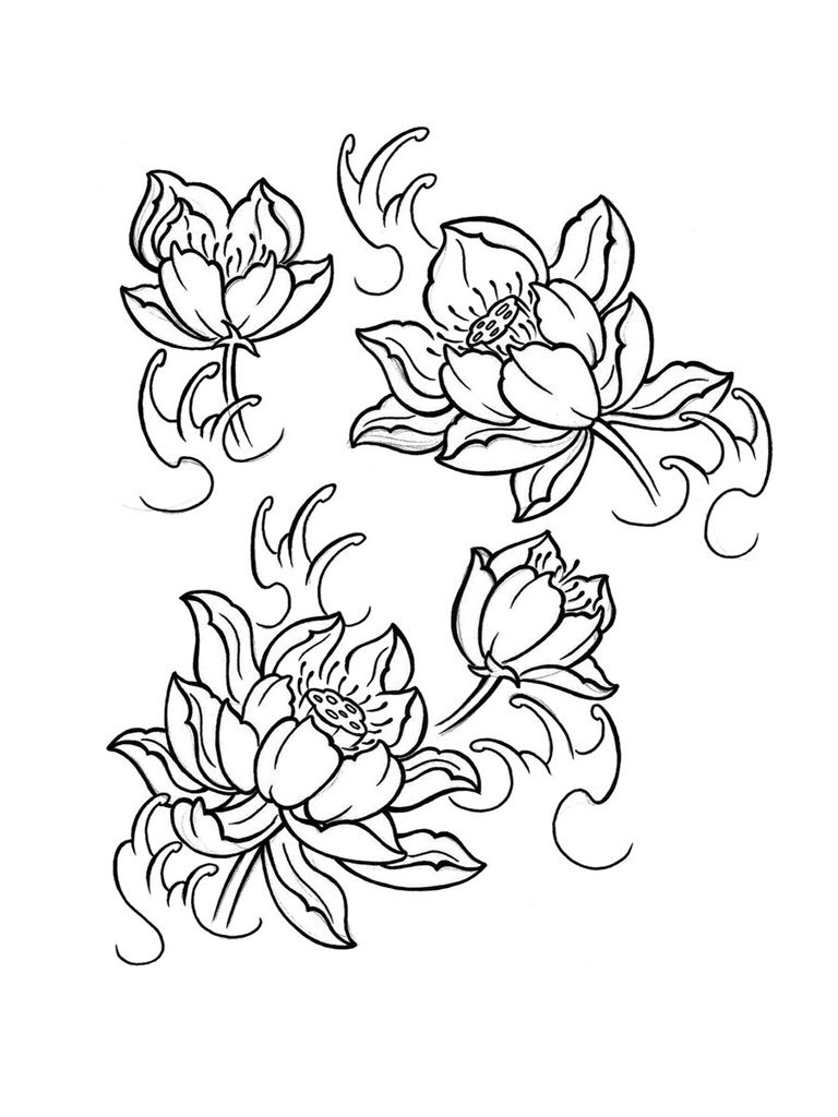 768x1024 Pin By Jeanett Turbo Holte On Tattoo Flower Design
