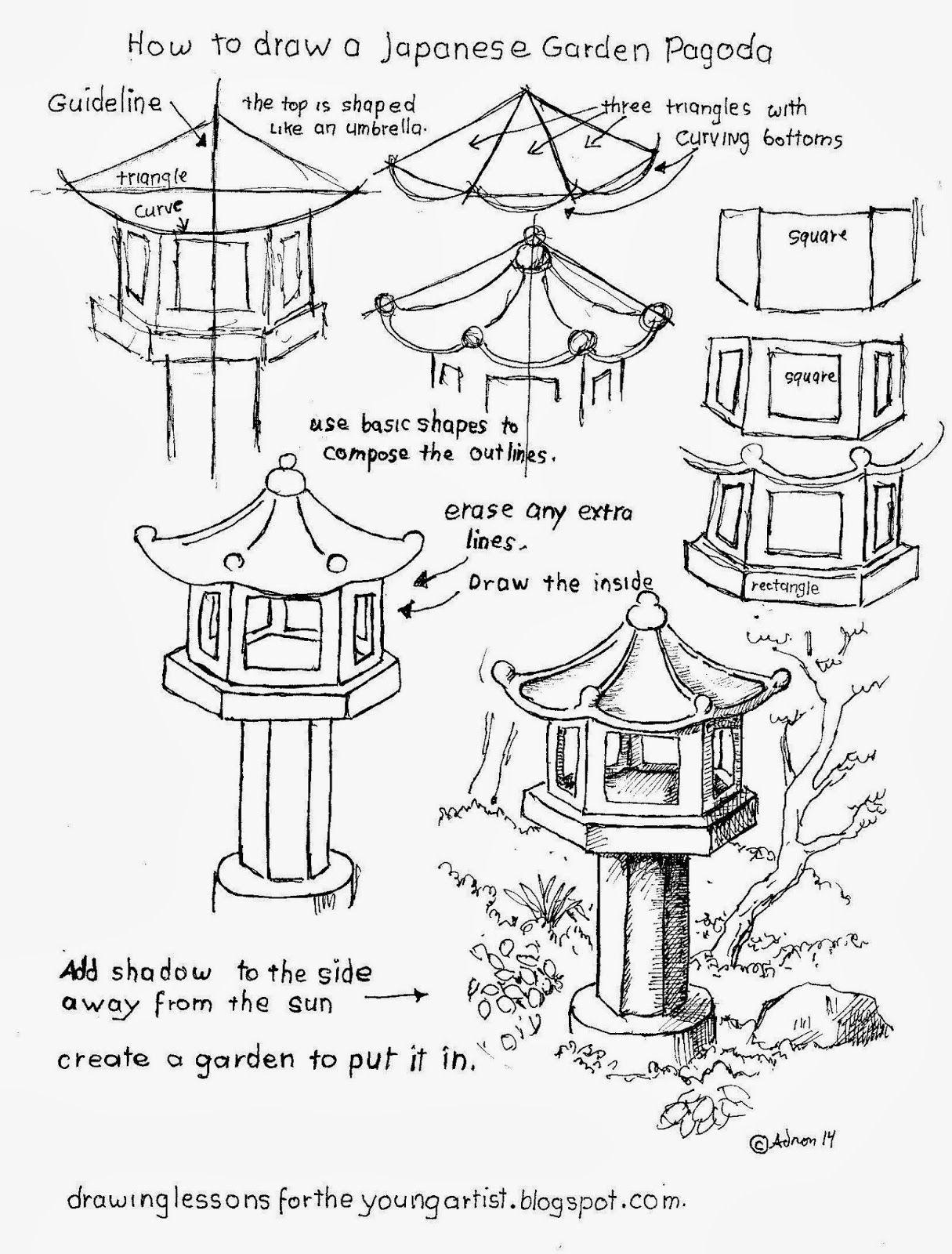 1215x1600 How To Draw Worksheets For The Young Artist Garden How To Draw