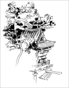 236x300 Pictures Japanese Sketches Black And White,
