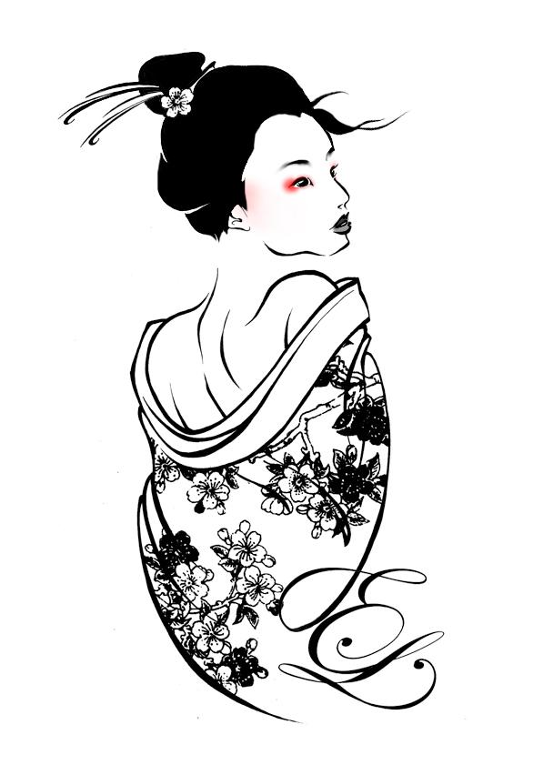 597x841 Geisha By Leagas