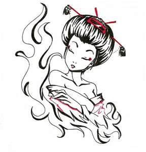 288x300 Backpiece Geisha Tattoos Page 4 Tats Tattoo
