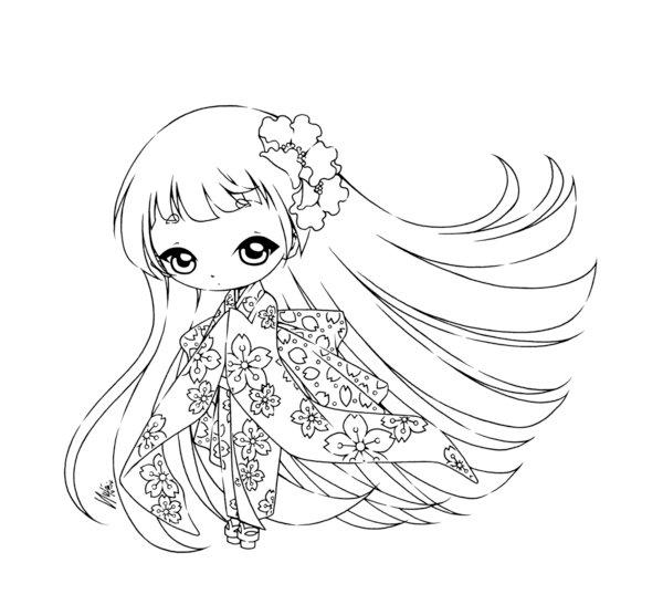 600x556 Little Japanese Girl By Sureya