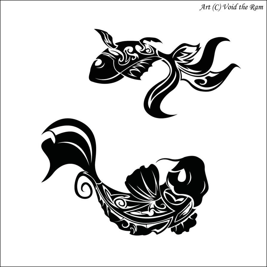 894x894 Koi Goldfish By Monkeymoniker